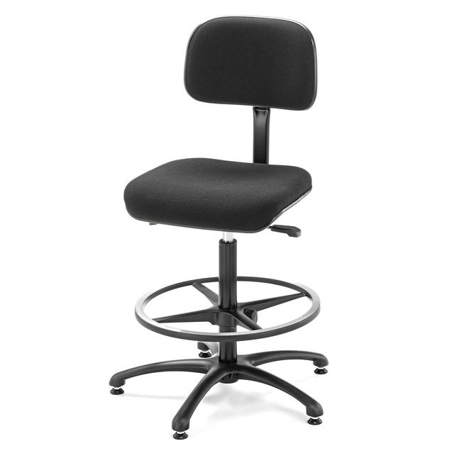 Fully adjustable conductor's chair