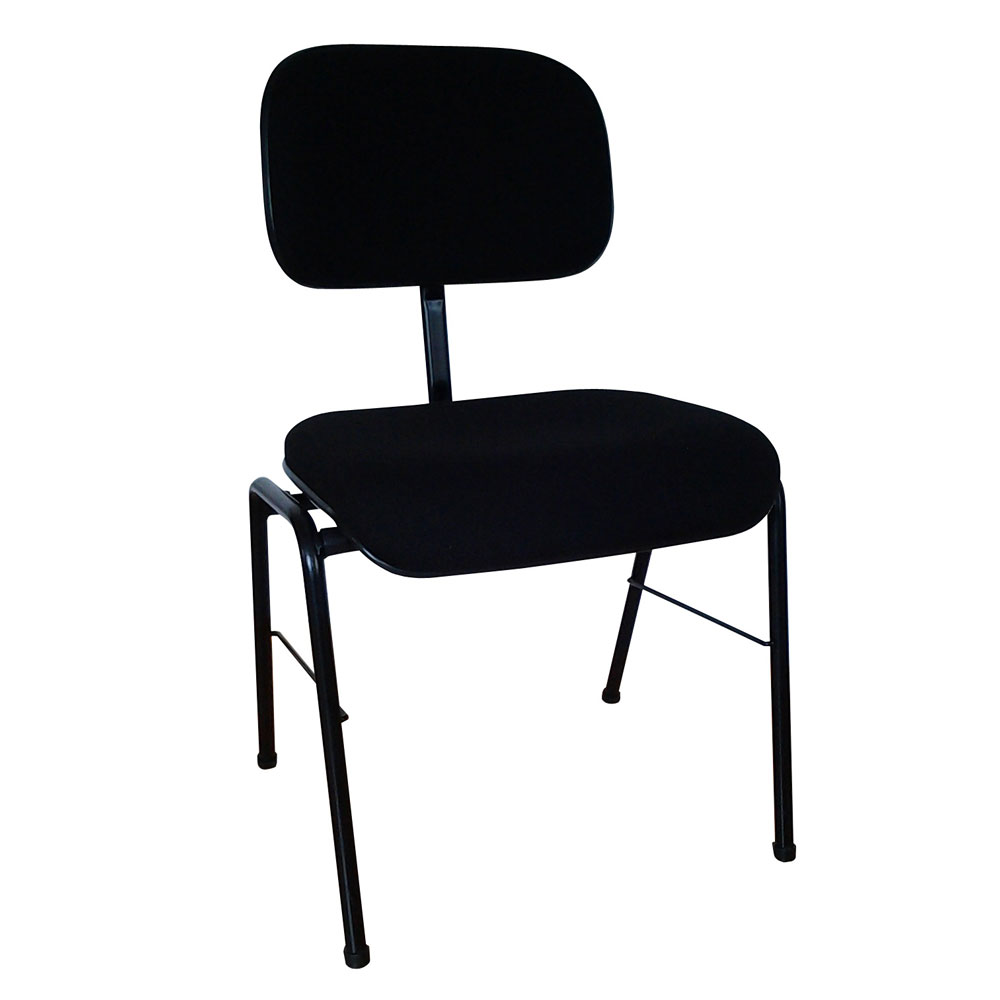 Stackable ergonomic orchestra chair