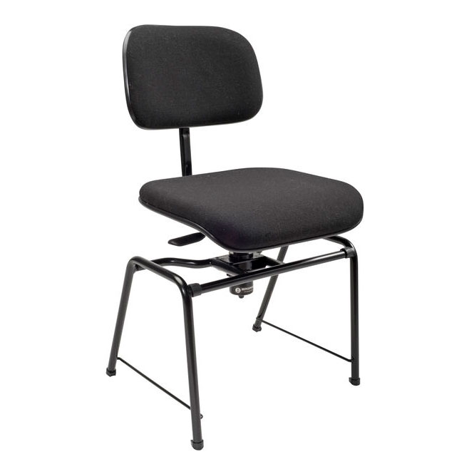 Height adjustable orchestra chair