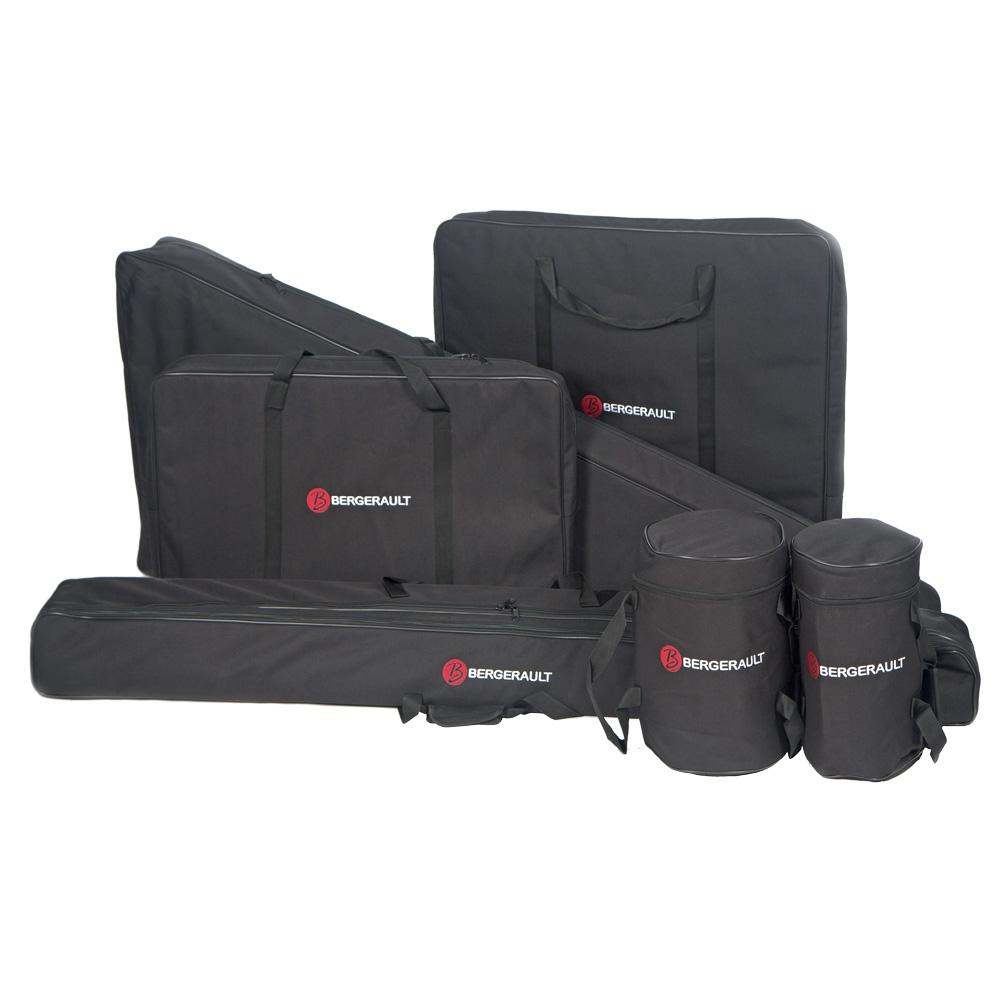 Set of 6 gig bags for Bergerault vibraphone Voyager et Performer