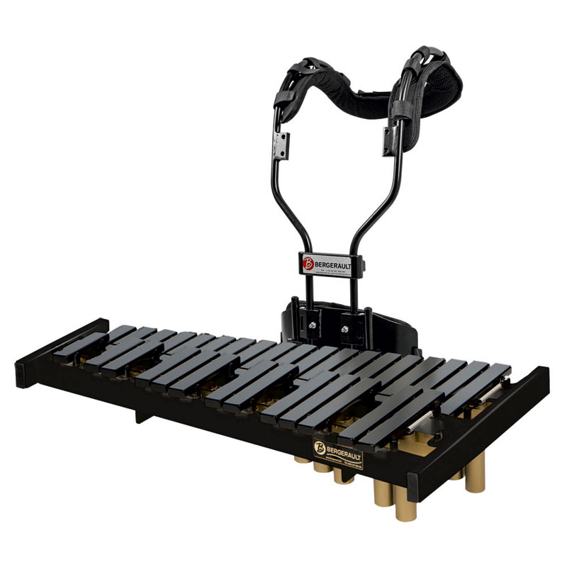 Marching xylophone 2,5 octaves C5-G7