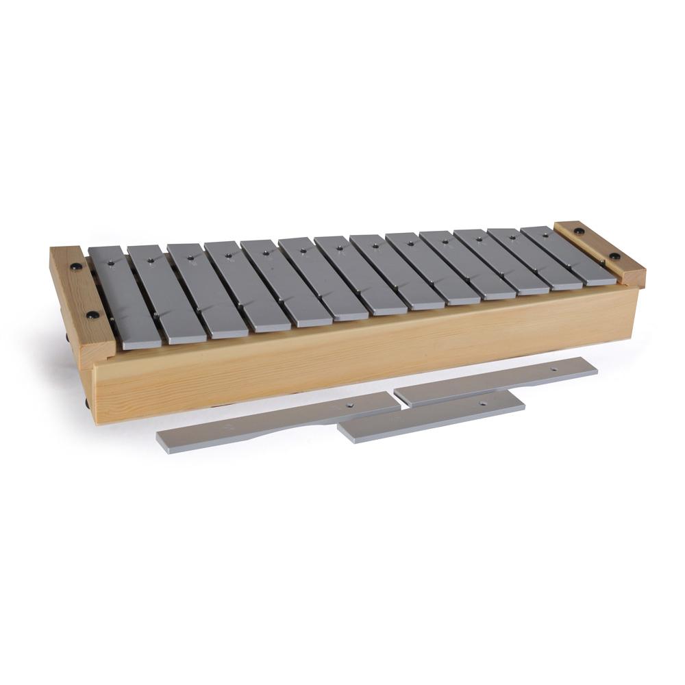 Alto diatonic metallophone - Compact series