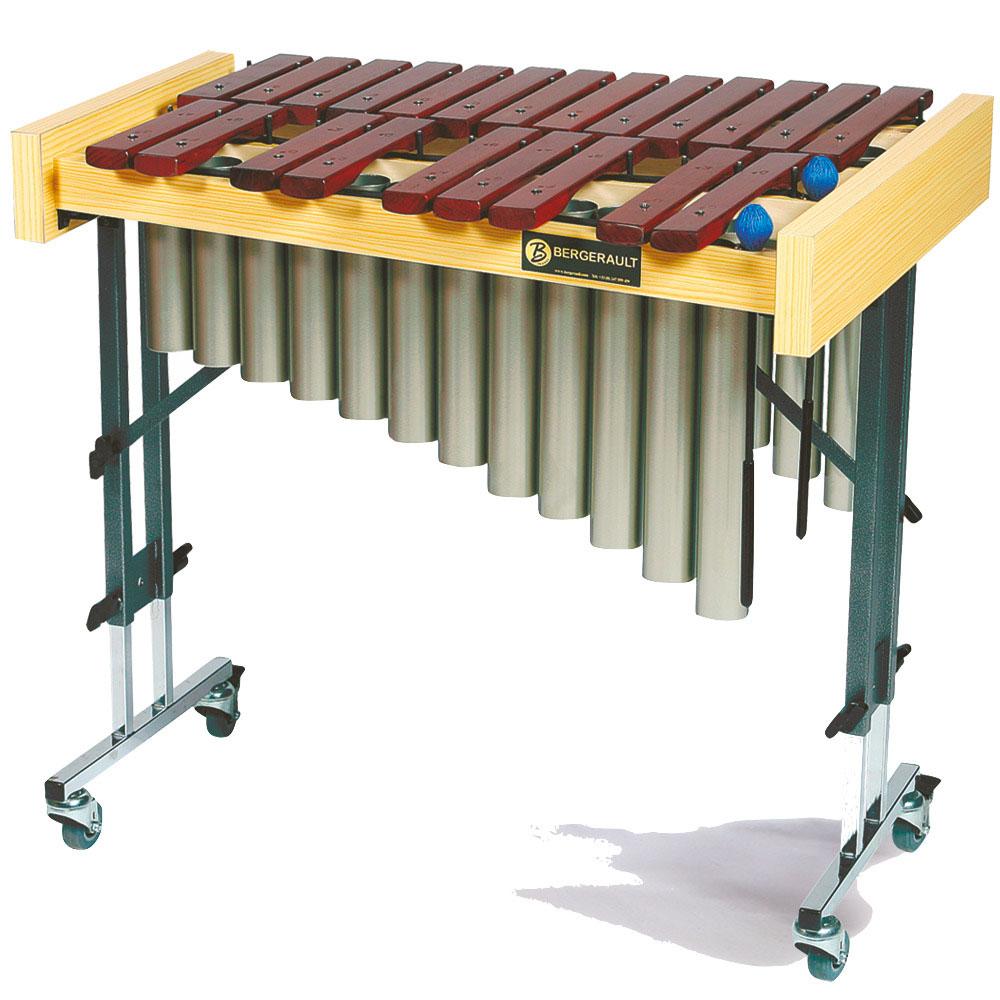 Alto chromatic xylophone on wheels