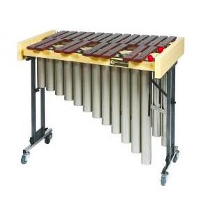 Bass chromatic xylophone on wheels