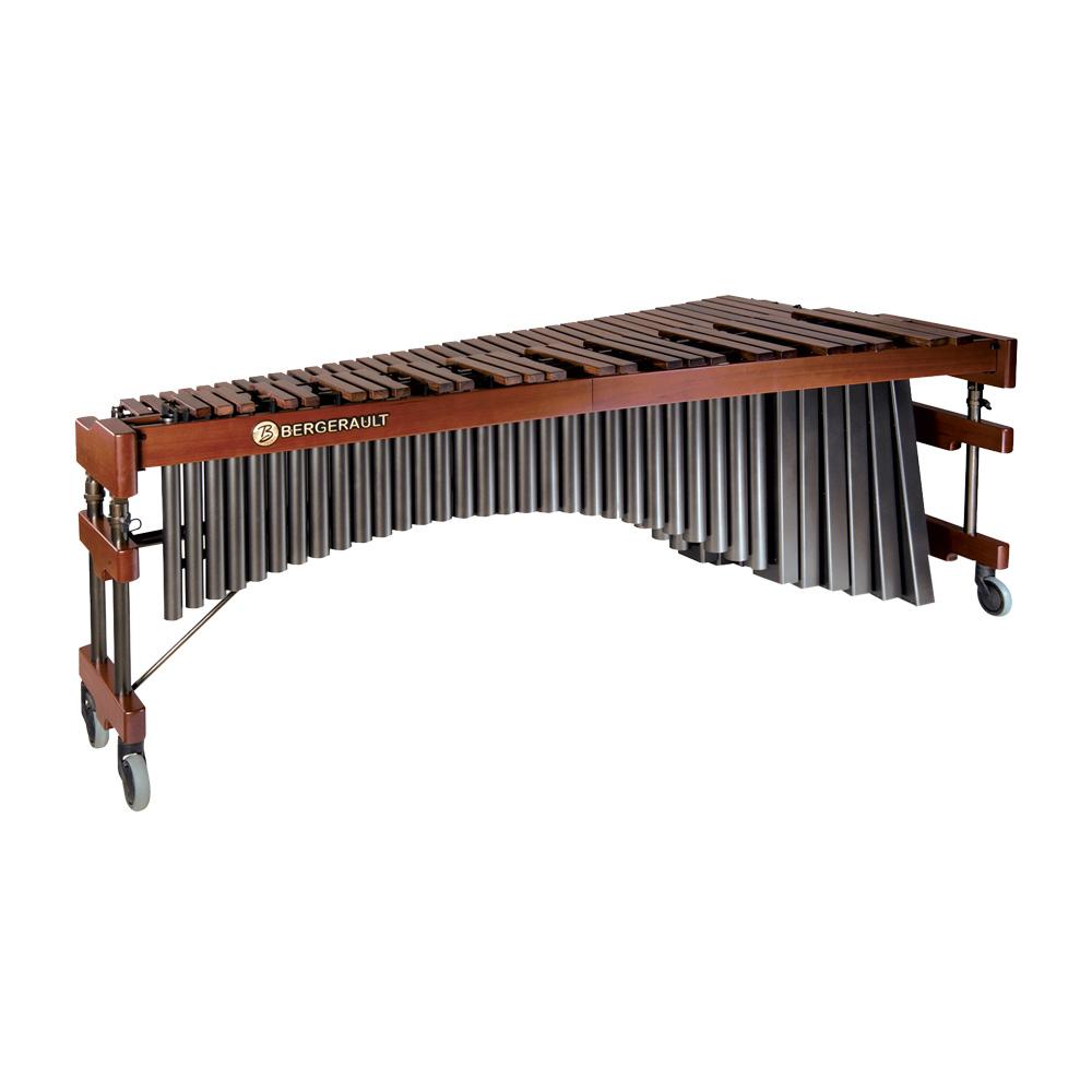Bergerault Signature Solo Marimba - 5 oct. C2 to C7 - Premium Rosewood bars - Mahogany / Black