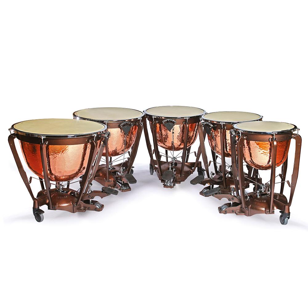 Bergerault Standard Symphonique timpani - Deep copper hand-hammered bowl