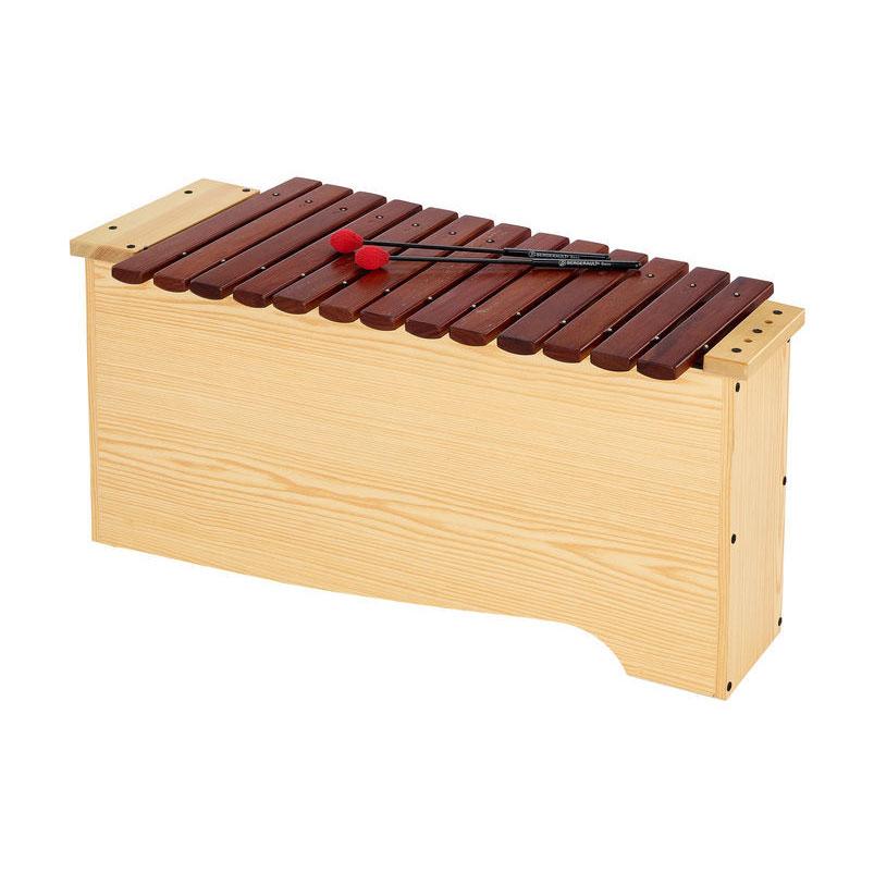 Bass diatonic xylophone
