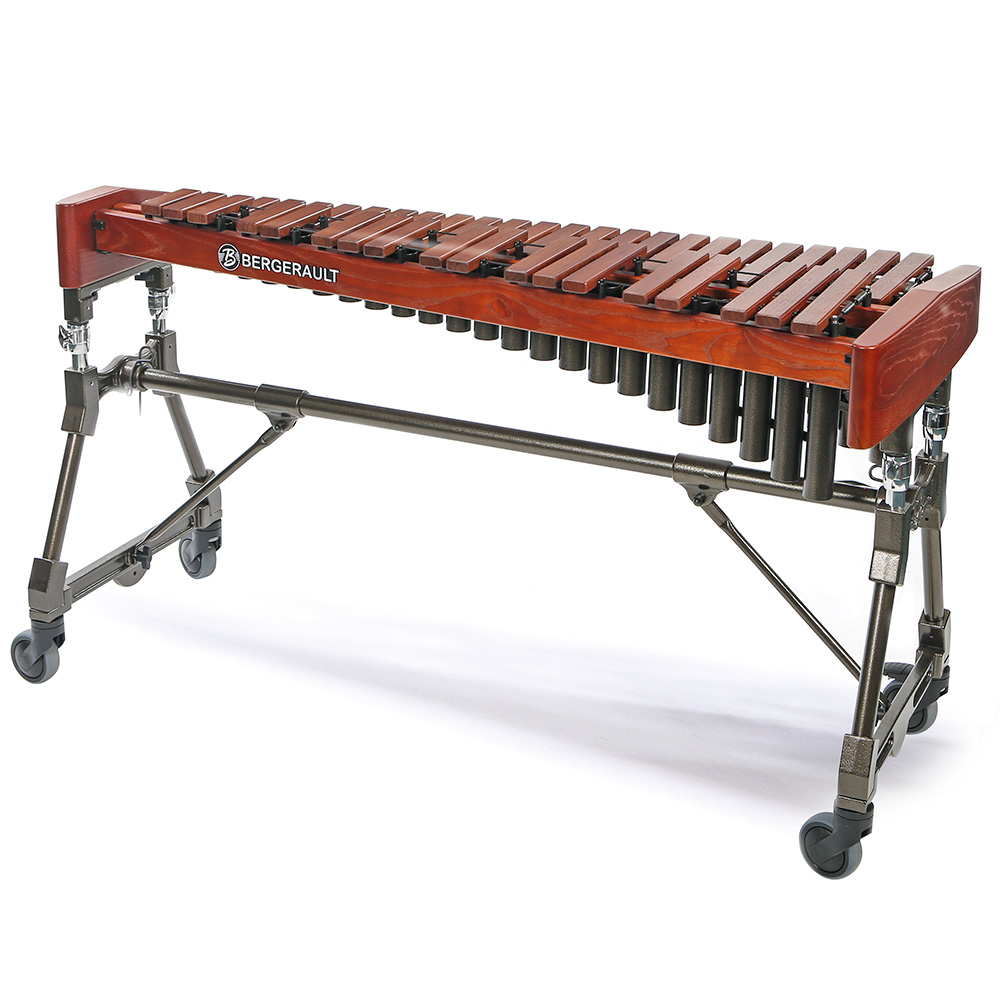 Bergerault Xylophone Performer- 3.5 oct. F4 to C8 - light rosewood bars