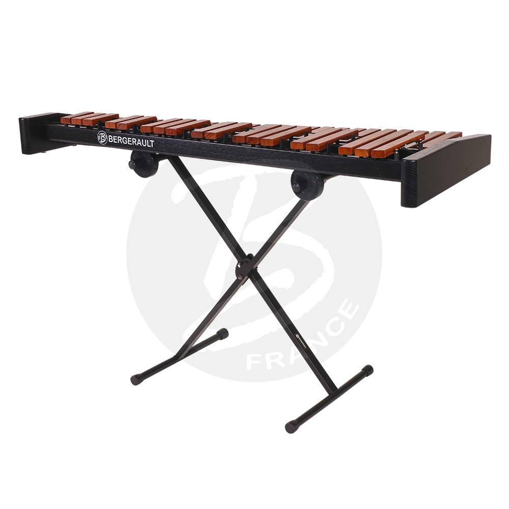 Bergerault Table Top Performer Xylophone - 3.5 oct. F4 to C8 - Techlon  bars