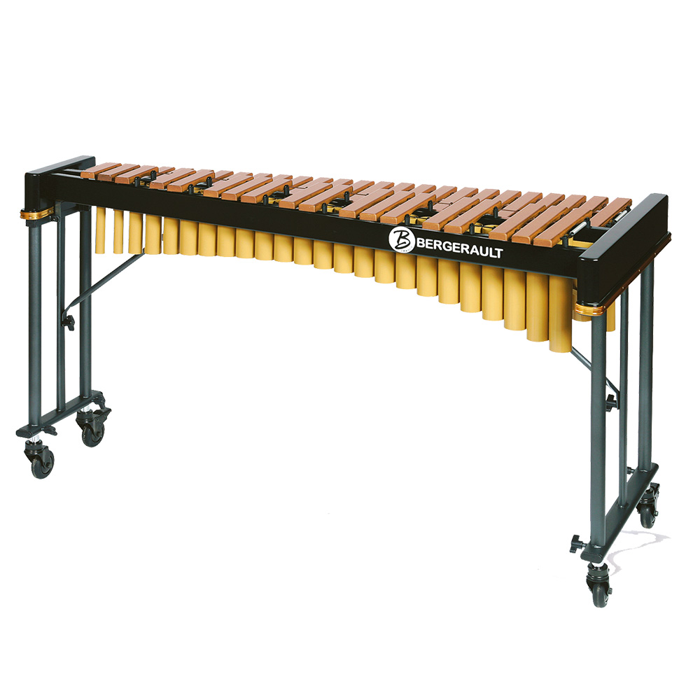 """Bergerault Xylophone \""""Record III\""""  Series - 3,5 octaves - Rosewood bars"""